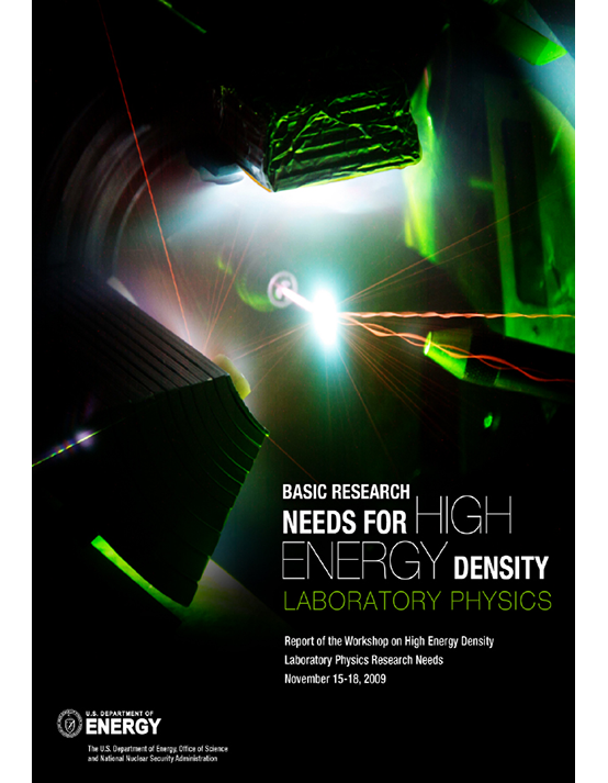 Cover image for 2009 Basic Research Needs for High Energy Density Laboratory Physics