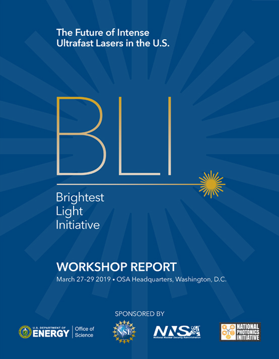 Cover Image of Brightest Light Initiative Report