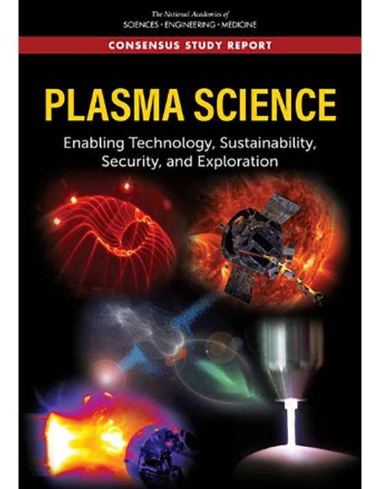 Cover image of 2020 NAS Report: Plasma Science